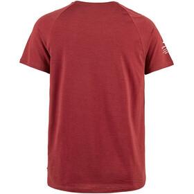 Klättermusen Fafne T-Shirt À Manches Courtes Homme, burnt russet